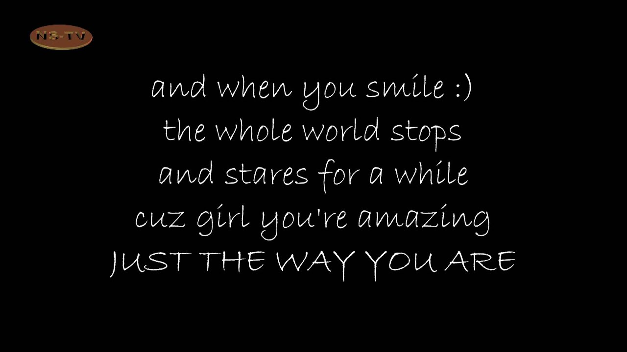 Bruno Mars - Just The Way You Are Lyrics and Free YouTube ...