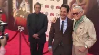 Marvel's Ant-Man: World Premiere Highlights - Paul Rudd, Michael Douglas, Evangeline Lilly