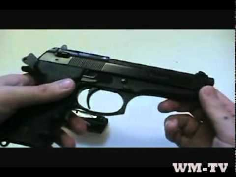 Beretta 96 Handgun - Overview