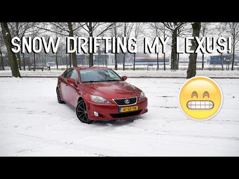 Snow Drifting My Lexus!