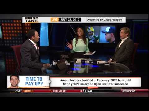 First Take discussing Ryan Braun Pt. 4 of 4