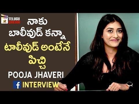 Pooja Jhaveri about Tollywood Industry | Pooja Jhaveri Facebook Live Interview | Telugu Cinema