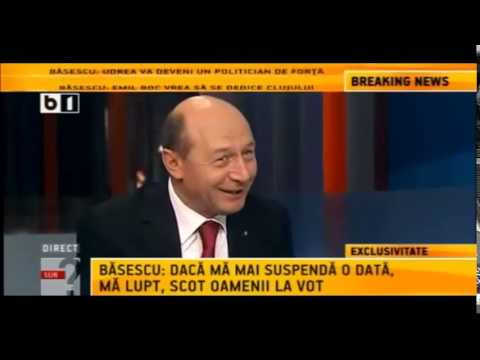 Traian Basescu despre Sebastian Ghita 2012 -2013