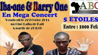 BARRY ONE ET IBA ONE EN CONCERT A KATI LE 27 FEVRIER 2015 SPOT RADIO