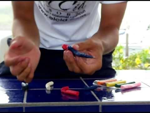 como hacer:el hombre araña/how to make: the spiderman playdooh