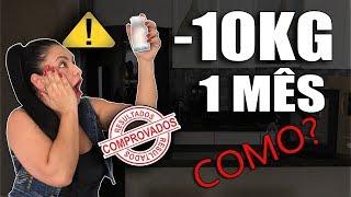 [FILÓ REVELA] Como EMAGRECER 10kg em 1 MÊS e Perder Gordura da BARRIGA Rápido! 😨