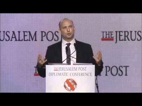 Jpost Diplomatic Conference:  Education Minister Naftali Bennett (Part 1)