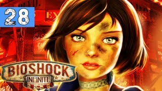 BioShock Infinite Gameplay Walkthrough - Part 28 - Scissor Hands - Lets Play / Playthrough Series