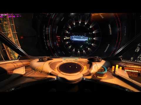 Elite Dangerous-Hauler fast landing