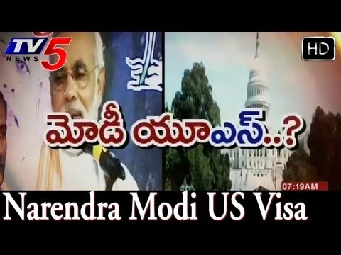 Narendra Modi visa talk hots up, 65 MPs write to Obama  -  TV5
