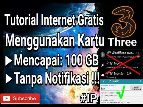 Cara Internet Gratis Menggunakan IP SAKTI.3(Three) 100% WORK (Tanpa Payload/SSH/Proxy)