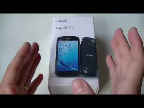 Acer Liquid E2 - Déballage (unboxing)