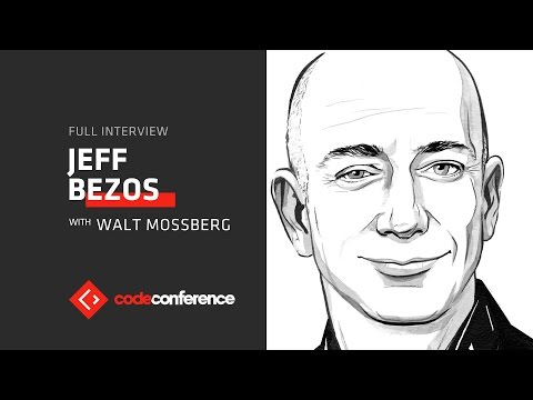 Jeff Bezos vs. Peter Thiel and Donald Trump | Jeff Bezos, CEO Amazon | Code Conference 2016