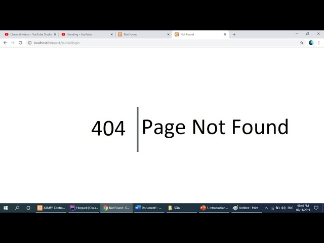 404 Page Not Found Laravel    Solved 100% thumbnail