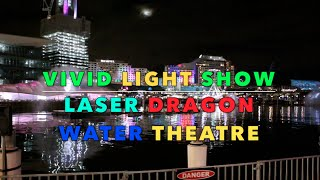 Vivid Sydney | Laser Dragon Water Theatre | 2016 #1