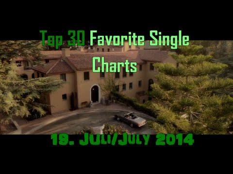 Top 30 Favourite Single Charts - 19 Juli 2014