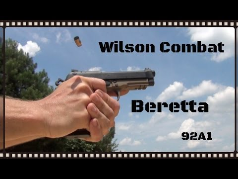 Wilson Combat Beretta 92A1 (M9/96/92FS/etc...) Custom Carry Package Review (HD)