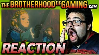 BOTW 2 Reaction - Zelda Breath of the Wild Sequel - Brotherhood of Gaming