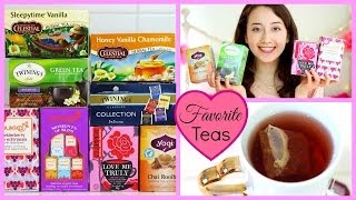 ♡ My Favorite Teas ♡