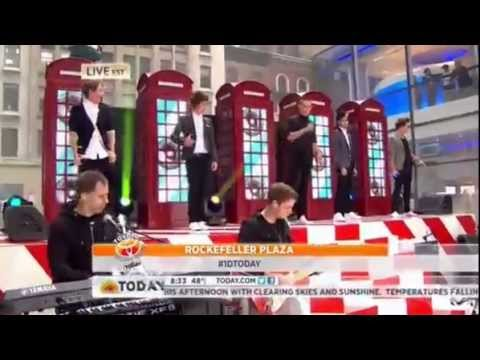 One Direction today show - what makes you beautiful