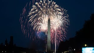 Fourth of July fireworks from the Nation's Capitol