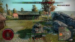 World of Tanks Fury gameplay PS4| 7 kills
