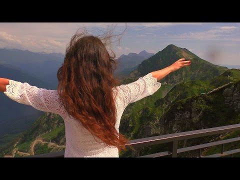 Красавица в Сочи. Роза Хутор. Олимпийский парк. Волчья скала. Имеретинский курорт.