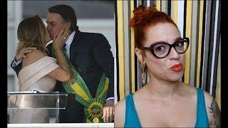 A posse de Bolsonaro: beijo na boca e opressão