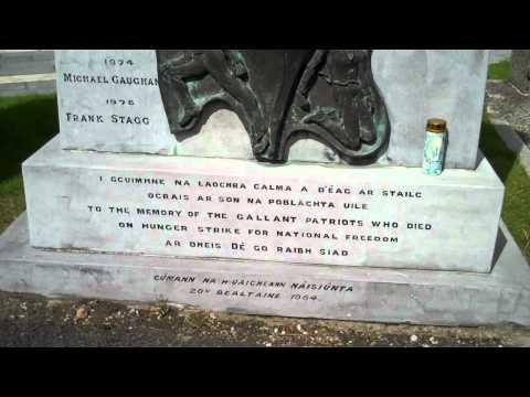 Dublin's Glasnevin Cemetery Republican Plot august 2010