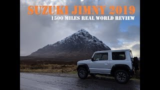New 2019 Suzuki Jimny - 1500 Miles Real World UK Review
