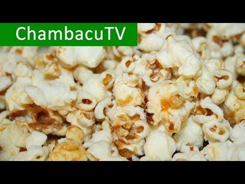 Как приготовить домашний попкорн - видео