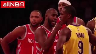 rondo vs cp3. did rondo spit on cp3?