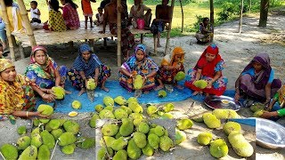Jackfruit Hodgepodge Cooking - 30 Pieces Jacfruits Prepared For Village Peoples - New Food Recipe