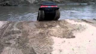AMPHIBIOUS MUDD-OX 8X8 WITH ADAIR ARGO TRACKS(RIVER FUN)