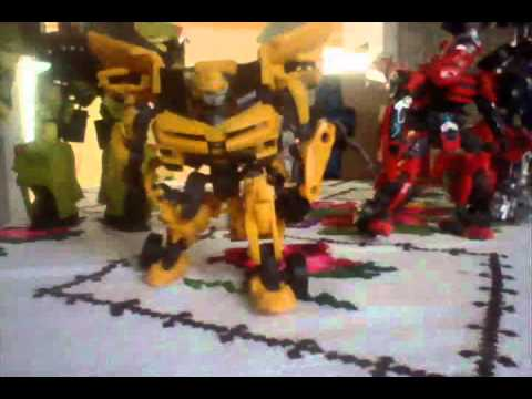 Transformers Dark Of the Moon-Autobots return stop motion Music Videos