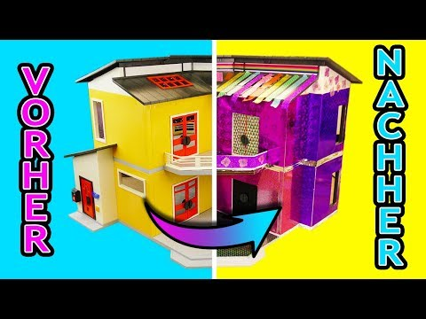 Pimp my playmobil: elternschlafzimmer, Küche, Wohnzimmer