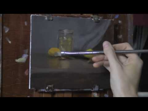 Fruit & Dried Herbs - Oil Painting Time Lapse