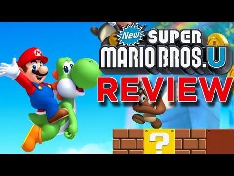 New Super Mario Bros U REVIEW!