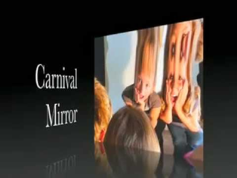 carnival mirror the original fun house distortion mirror 2012 halloween prop and display youtube. Black Bedroom Furniture Sets. Home Design Ideas