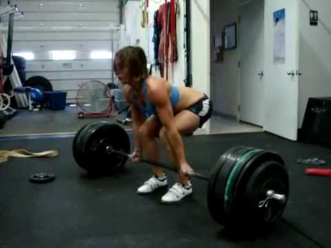 Jeannie Bassi DeadLifts Twice Her Body Weight Image 1