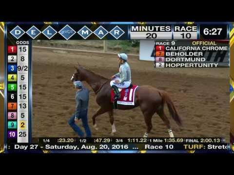 California Chrome wins TVG Pacific Classic