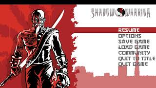 BA THOMPSONATOR | Shadow Warrior Redux 1 (Archived)