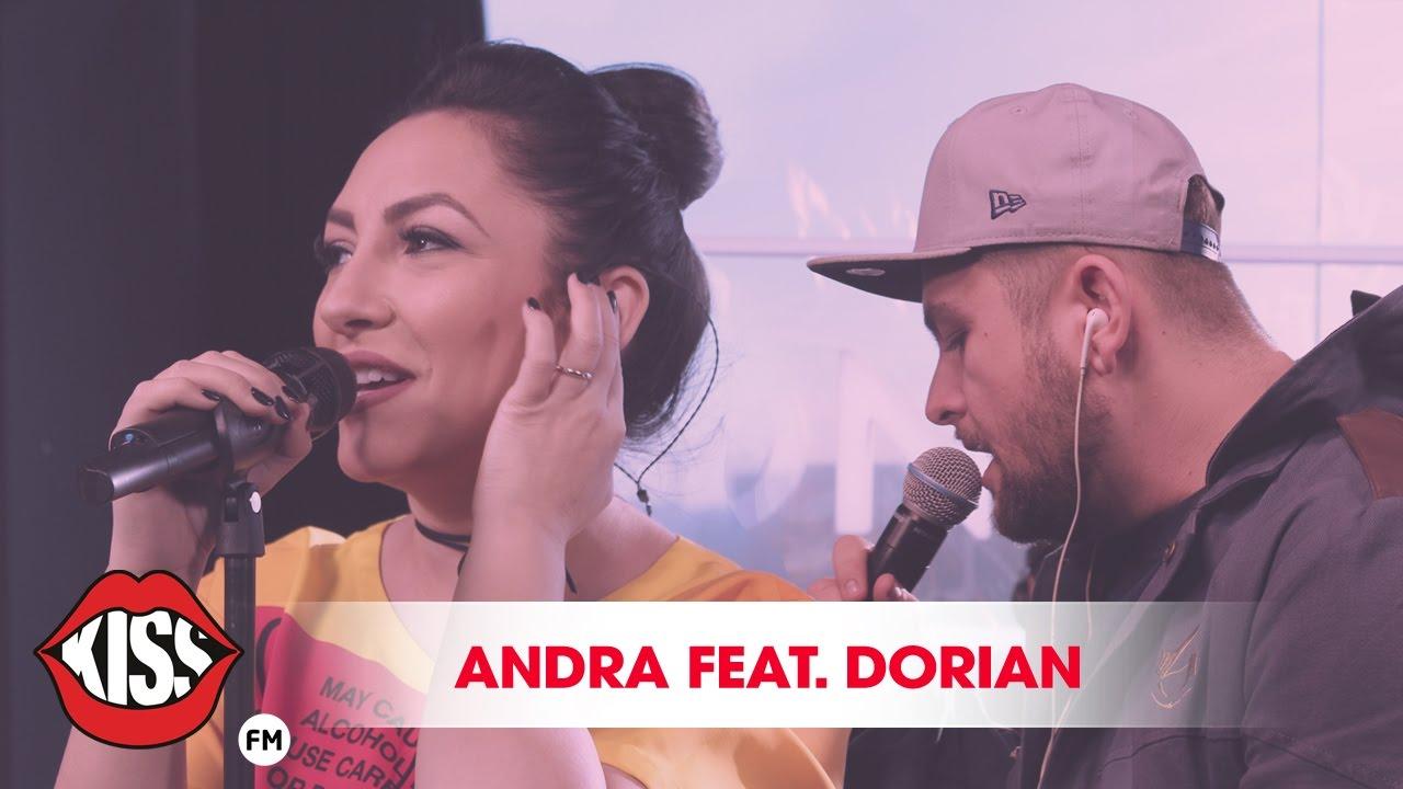 Andra feat. Dorian - Floare de nu ma uita (live la Kiss FM)