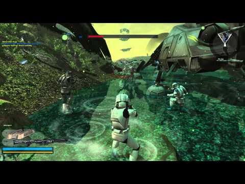 Let's Play Star Wars Battlefront 2 (Campaign Online/Co-op) Part 4 - Beware of Acklay