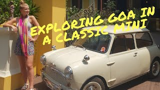 Touring Goa in a Vintage Mini! Classic cars in India!