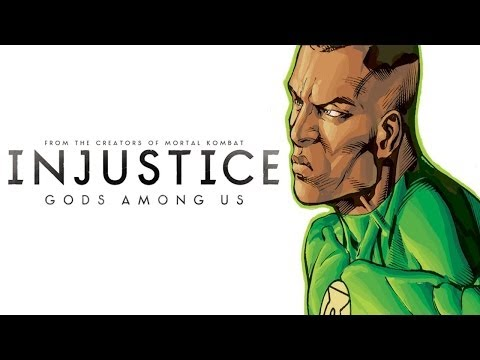 Injustice iOS - John Stewart Green Lantern Character Review