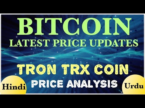 Bitcoin altcoin latest price update hindi tron trx coin price technical analysis