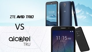 ZTE Avid Trio VS Alcatel TRU - metro PCS