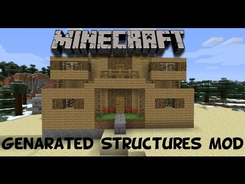 Minecraft Mod Monday #3 Generated Structures Mod