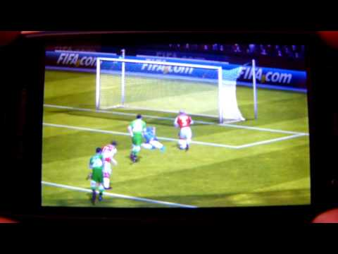 Fifa 12 on ZTE Blade OSF